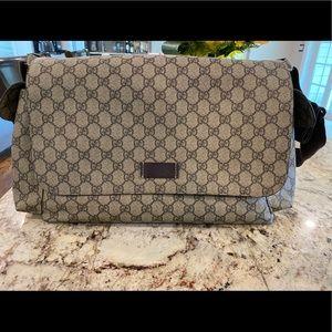 Gucci Supreme Plus Diaper Bag - Used